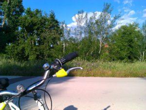 De paseo con la bicicleta