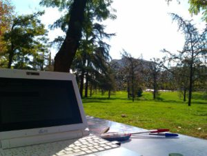 Mi Asus EEE 901. ¿Se estudia bien aquí o no?
