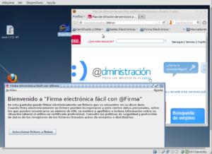 Captura de pantalla Máquina Virtual