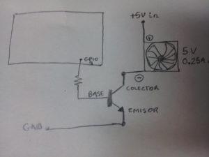 Circuito básico Transistor como Interruptor