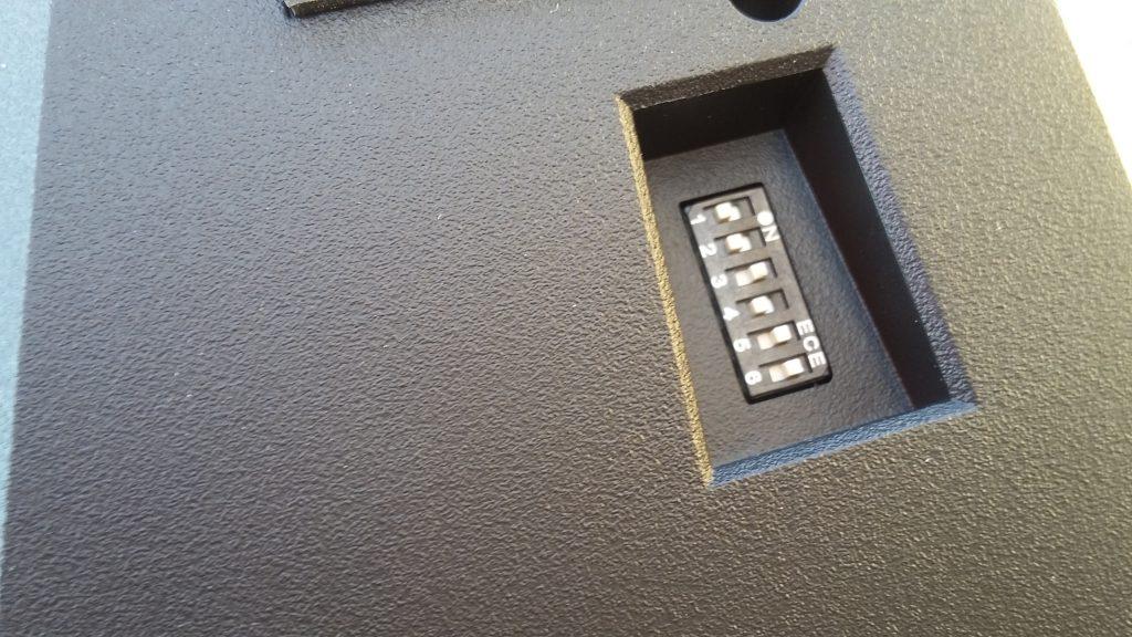 Interruptores DIP de configuración
